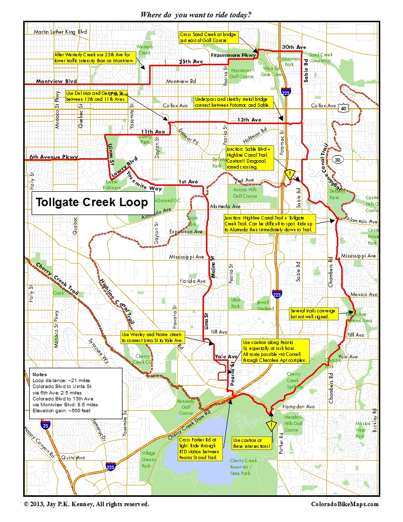 Horseshoe Park coloradobikemaps