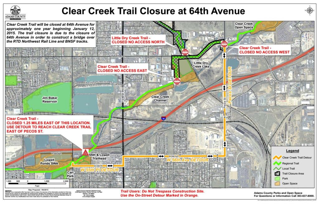 Clear Creek Detour