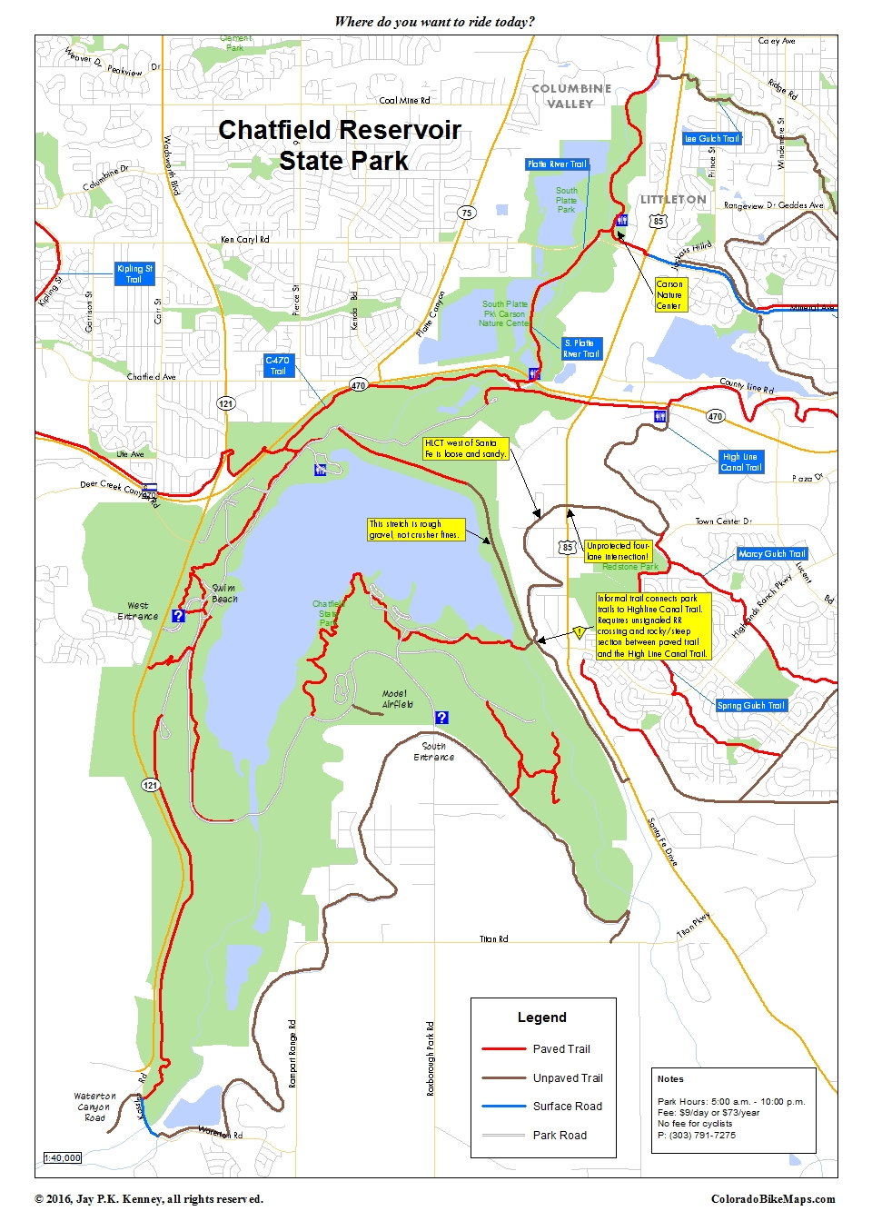 Cherry Creek Trail coloradobikemaps