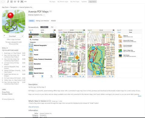 PDF Map App