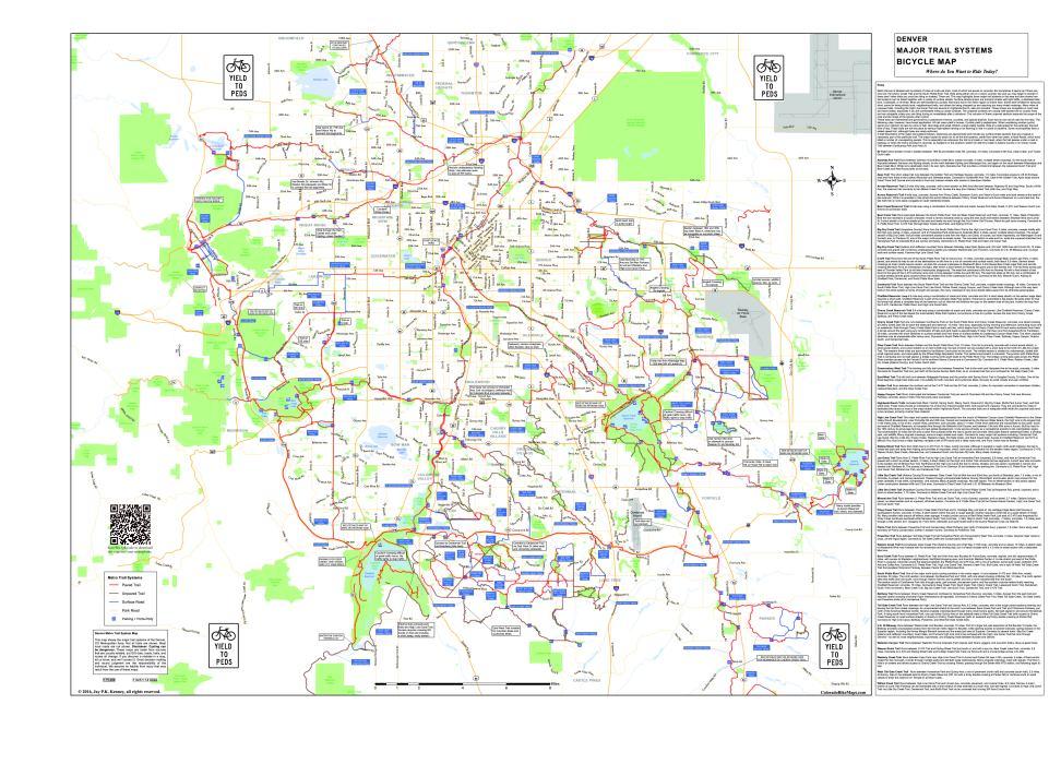 Metro Denver Map.Coloradobikemaps